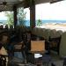 Dach-Restaurant mit Meerblick